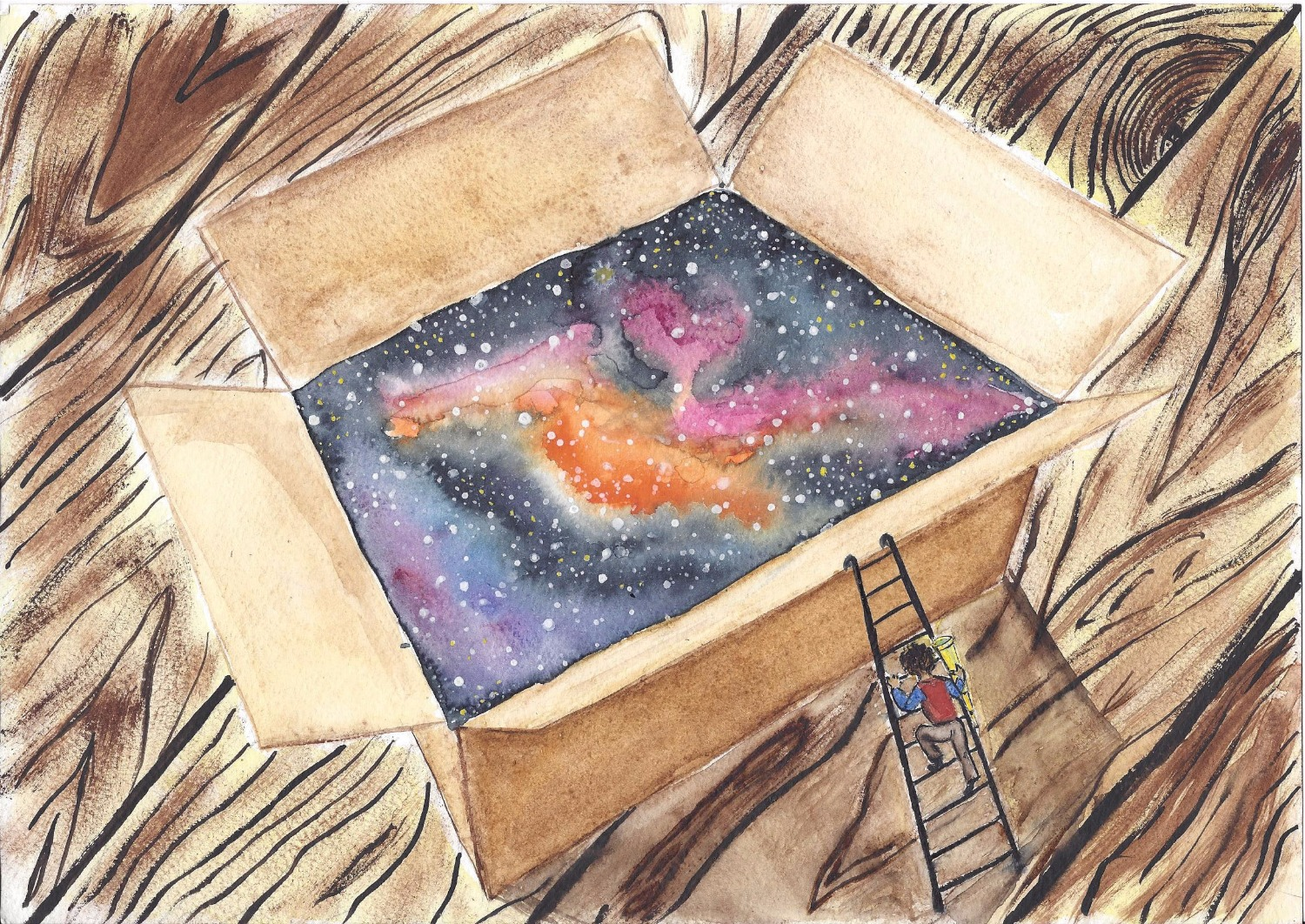 A Box artwork by Tonya Sheina