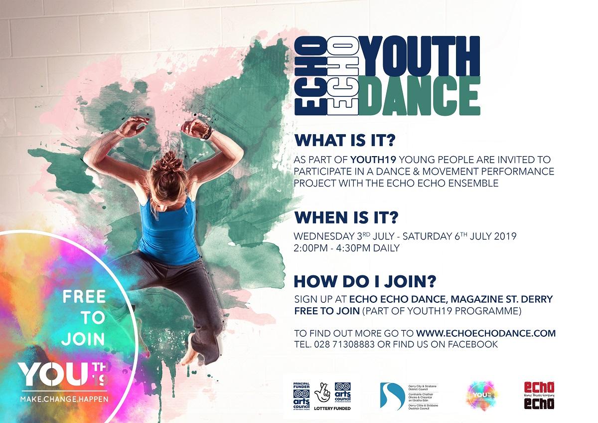 Echo Echo Dance - Echo Echo Dance Theatre Company - Derry